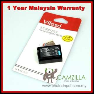 Viloso FW50 Replacement Battery for Sony A7 A7II A7R A7S Viloso LP-E6 Replacement Battery for A7 A7II A7R A7S NEX-7 5T 5R 5N A5000 A5100 (1 Year Warranty)