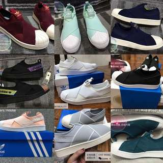 Adidas Slip On - Various Color and Size