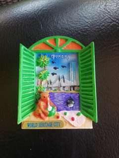 Penang ceramic fridge magnet rm2.50 New