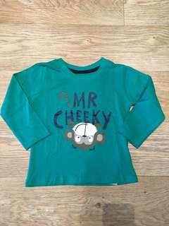 [ready stock] Primark (12-18m) LS boys tshirt