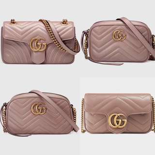 👍🏻BEST SELLING Gucci GG Marmont Rosa Series