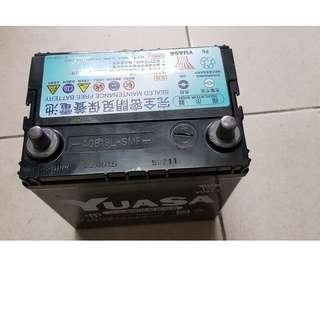 (二手中古電池) YUASA 40B19L-汽車電池 數值漂亮,品項優 FIT 大發 TERIOS 小悍馬