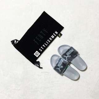 Puma Leadcat Fenty Fur slide slippers