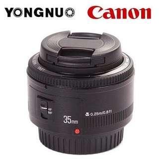 Lensa youngnuo YN 35mm F2 murah