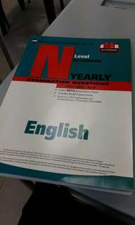 N level english 10 year series