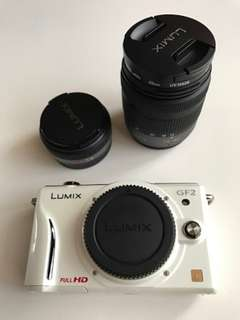Kredit tanpa DP Panasonic LUMIX DMC-GF2 KIT 14mm 14-42mm Double lens