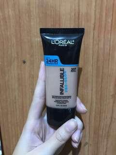 Loreal Foundation Infallible Pro Glow 207