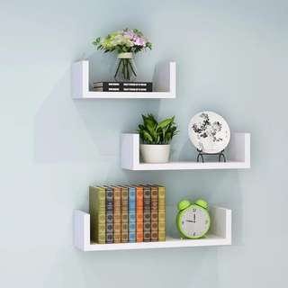 Wall Shelves White Color