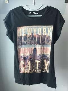 New Look New York City NYC Shirt