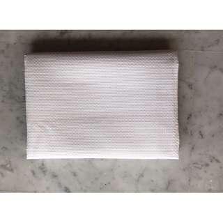 DIY Cross Stitch Cloth Fabric Canvas Handmade Handicraft White 8ct