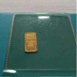 1g pure gold bars for sale