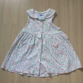 Baby B'gosh dress in floral print
