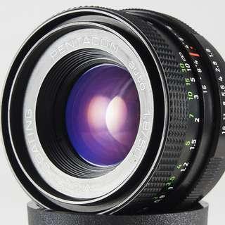 **日光銀鹽** 德鏡 Pentacon 50mm F1.8 MC 人像鏡 Nikon 接環 #564