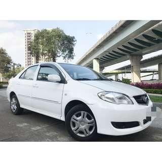 Toyota VIOS 恆溫 安全氣囊 倒車雷達 1.5L省稅金可全額貸 ALTIS Mazda3 CIVIC 超低月付