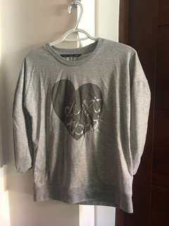 Formé Grey Printed Sweater