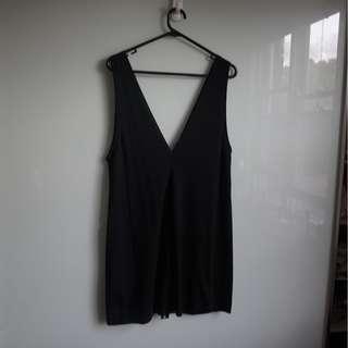 ZARA Black Dress Size M