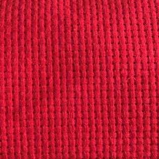 DIY Cross Stitch Cloth Fabric Canvas Handmade Handicraft Red 11ct
