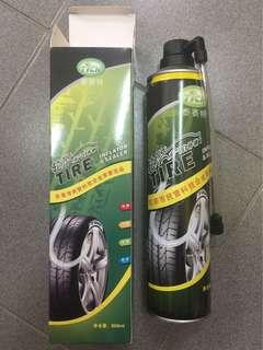 Tire inflator & sealer