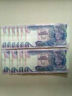 Rm1 Banknote (10pcs/set)
