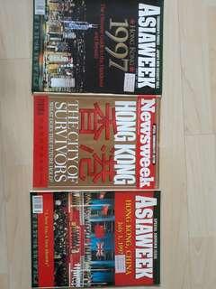 Asiaweek/Newsweek on Hong Kong handover 1997