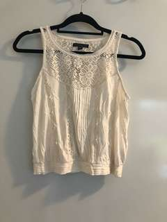 American Eagle White Top