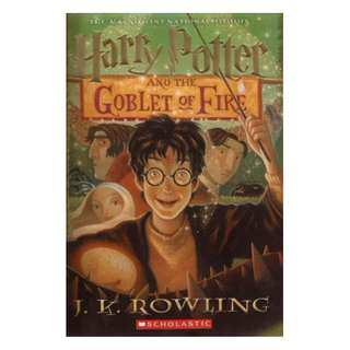 E-book English Novel - Harry Potter and the Goblet of Fire (Harry Potter, #4) by J.K. Rowling