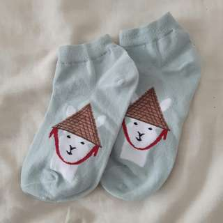 Korean Graphic Socks