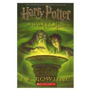 E-book English Novel - Harry Potter and the Half-Blood Prince (Harry Potter, #6) by J.K. Rowling