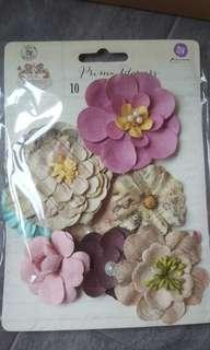 3D flower stickers