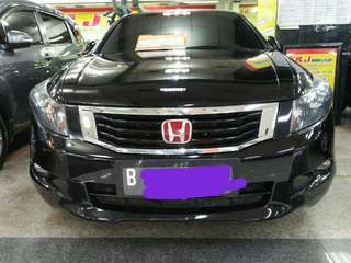Honda Accord 2.4 VTIL 2008 AT Hitam metalik