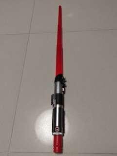正版星球大戰 Star Wars 黑武士激光劍 Darth Vader lightsaber