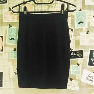midi pencil skirt office wear