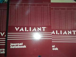Valiant Journal Notebook