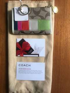Authentic Coach Card Holder/Coin Purse