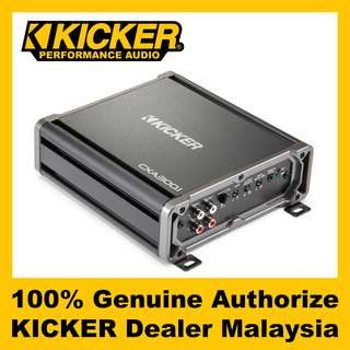 KICKER CX Mono Class D Amplifier, 300W - CXA300.1