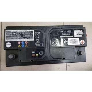 (二手中古電池) BMW原廠 VARTA EA950 95AH 同60044華達歐規汽車電池 數值漂亮 品項優