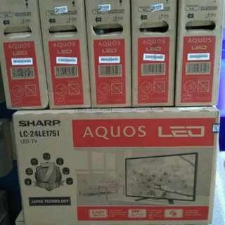 HARBOLNAS PROMO TV LED SHARP 24LE175 USB MOVIE 24INCH
