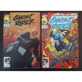 Ghost Rider #13-#14 (1991 2nd Series) Complete Set of 2-The Spirit of Vengence VS Johnny Blaze,The Original Ghost Rider! 'Nuff Said!