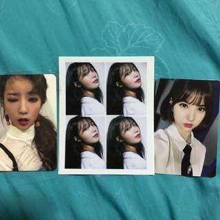 $5 each of the photocards!! $8-$10 for albums