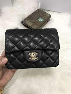 Customer's purchased, Chanel Mini Square