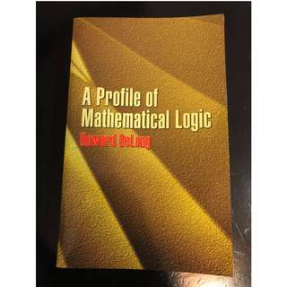 C285 BOOK - APROFILE OF MATHEMATICAL LOGIC