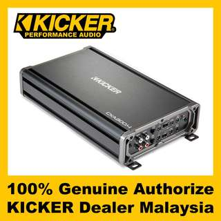 KICKER CX 4 Channel Class D Amplifier, 300W - CXA300.4