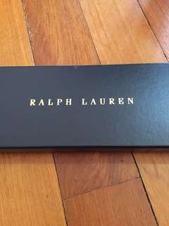 Ralph Lauren pony tie - new