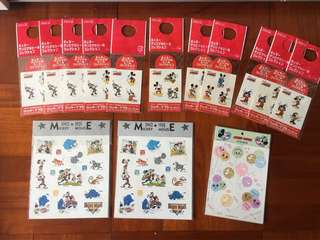 Disney Mickey stickers
