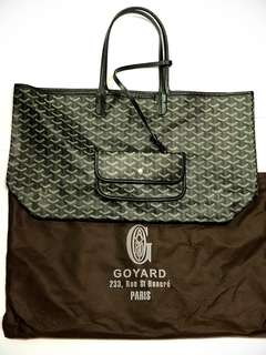 Goyard Saint Louis Tote bag (Black)