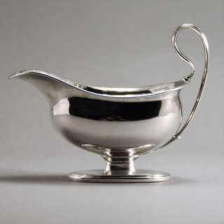 George III Sterling Silver Sauce Boat 1785, London