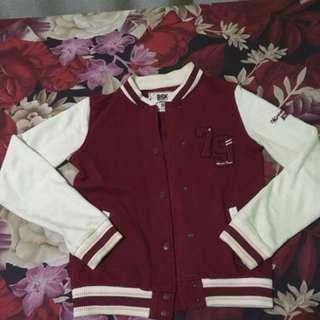Bershka varsity jacket