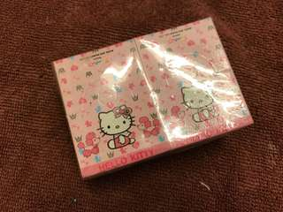 Hello Kitty packing cards