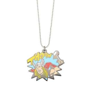Japan Disneystore Disney Store Marvel Thor 02 Comic Necklace