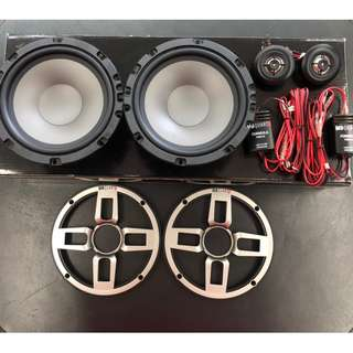 "MB QUART 6.5"" 2Way Component Speaker (FSB-216) German Engineering !!!"